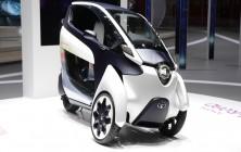 Toyota i-ROAD concept 4