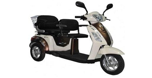 Fantom 3 Tekerlekli Elektrikli  motosiklet