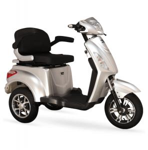 3 tekerleli elektrikli bisiklet VM4 volta biisklet motor beyaz